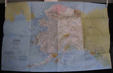 1975 National Geographic Map - Alaska/Beauty & beasts - 22 x 33 inches