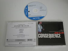 JACKIE MCLEAN/CONSEQUENCE(EMI/BLUE NOTE/0946 3 11429 2 5) CD ALBUM