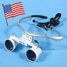 Flexible Dental Surgical Binocular Magnifier Loupes Glasses 3.5X 420mm 1PC SALE