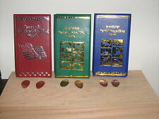 3 Elongated Penny Souvenir Collector Books With 6 Free Pressed Pennies! New!