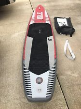"""USED ISLE Airtech® 12'6 Inflatable Stand Up Paddle Board (6"""" Thick)"""