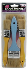 """7pc Large Area Paint Brushes Classroom Craft 3"""", 2"""" and 1"""" Painting Royal Brush"""