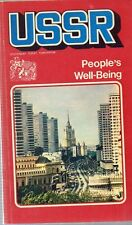 X54 Ussr People's Well-Being Novosti Press Agency Moscow 1976