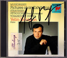 Yefim BRONFMAN Signed MUSSORGSKY Pictures at an Exhibition STRAVINSKY Petrushka