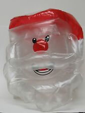 Inflatable Santa Claus Solar Light Covers xmas holiday w/ pump Red White Outdoor