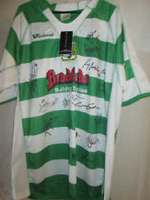 Yeovil Town 2007-2008 Squad Signed Home Football Shirt with COA /20320 BNWT