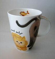 2001 Roy Kirkham England Whiskas Tabby Siamese Ginger Red Self Cats Coffee Cup