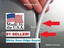 Door edge trim protectors DOOR EDGE GUARDS, GLOSS WHITE (fits): Ford F-150  250