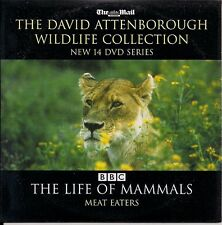 DAVID ATTENBOROUGH BBC THE LIFE OF MAMMALS - MEAT EATERS DVD