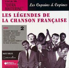 CD NEUF scellé - LEGENDES DE LA CHANSON FRANCAISE - COPAINS & COPINES -C16