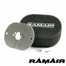 RAMAIR Carb Air Filters With Baseplate SU HS4, HIF4, HIF3B 1.5in 65mm Bolt On