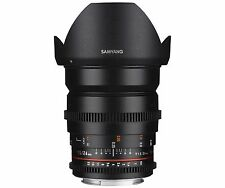 Samyang 24mm T1.5 II  VDSLR ED AS IF UMC Lens for Sony-E mount -Free Ship