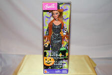 NIB-HALLOWEEN ENCHANTRESS BARBIE-RARE ENGLISH & SPANISH BOX-2005-WITCH COSTUME!
