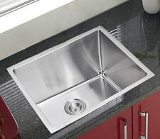 "Customized 22"" Small Radius Stainless Steel Laundry/Kitchen Sink-2218AR-12"