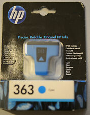 (PRL) HP 363 ORIGINALE CARTUCCIA INCHIOSTRO INK CARTRIDGE CYAN CIANO C8771EE EXP