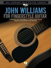 John Williams for Fingerstyle Guitar Sheet Music Hal Leonard Solo Guit 000116026