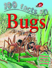 Steve Parker 100 Facts Bugs (100 Facts) Very Good Book