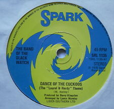 "BAND OF THE BLACK WATCH - Marching With Cuckoos - Ex Con 7"" Spark SRL 1135"
