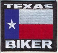 TEXAS STATE  BIKER FLAG EMBROIDERED VEST PATCH
