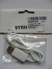 Fun2get USB Cable for YD-618 Helicopter, ASIN B00597IQ46