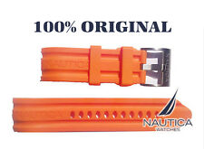 NAUTICA REPLACEMENT BAND 100% ORIGINAL ORANGE 24mm N16509G N15565 A20044 BFD 100