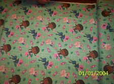 New Disney Doc McStuffins Bandaid Toss flannel fabric by the 1/2 yard
