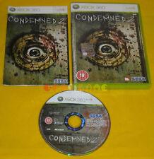 CONDEMNED 2 XBOX 360 Versione Inglese Gioco in Italiano 1ª Edizione » COMPLETO