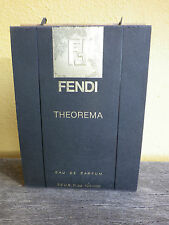 FENDI THEOREMA Eau de Parfum,100 ml,3.3 oz spray-  women- in box- ORIGINAL & NEU