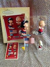 2004 HALLMARK ORNAMENT THE PEANUTS GAMES SNOOPY WOODSTOCK LUCY CHARLIE BROWN