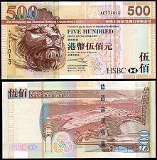 HONG KONG 500 DOLLARS (P210a) HONG KONG & SHANGHAI BANK 2003 UNC