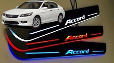 Honda Accord 2013 - 2017 LED Door Sill Cuff plate panel 4pcs RED,WHITE,BLUE