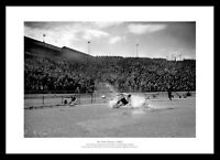 Tom Finney Splash Print -  Preston North End Photo Memorabilia (291)
