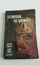 la confusion des sentiments 1962 livre de poche -stefan zweig