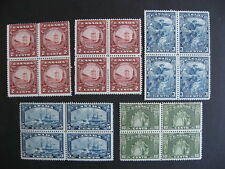 CANADA old better value blocks group MH (every stamp is MH) high CV, check em!