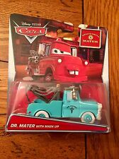 Disney Pixar Cars DR. MATER With Mask Up Rescue Squad Mater Walmart Series
