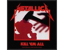 OFFICIAL LICENSED - METALLICA - KILL EM ALL SEW ON PATCH METAL NEW
