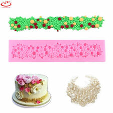 Pearls Beads Silicone Mould Fondant Cake Tools Cupcake Mold Border Sugar Paste