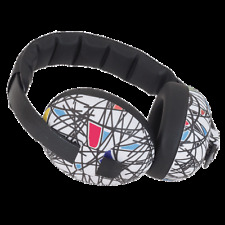 RED WHITE BLUE BLACK EAR MUFFS BABIES ROCK CONCERT AIREOPLANE HEARING PROTECTION