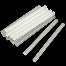 New 10Pcs Mini Translucence/Clear Hot Melt Glue Adhesive Sticks 7mm x 190mm CAD