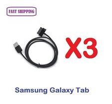 3 X Data Sync Charger Cable for Samsung Galaxy Tab P6200 P6800 P7300 P7500 P7510
