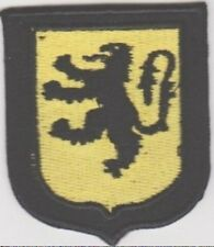 GERMAN ARMY FLEMISH VOLUNTEERS SLEEVE SHIELD PATCH insignia patch for sleeve
