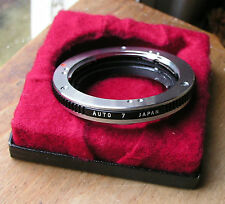 genuine Olympus OM  auto extension Tube 7