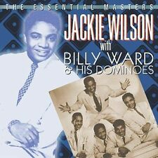 The Essential Masters With Billy Ward and His Dominoes by Jackie Wilson (CD,...