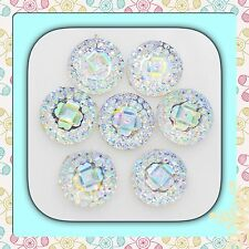 ��Flat Back Ab x 40 Resin Twinkling,Rhinestone For Crafts