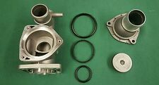JAGUAR XJ8 XJ X308 V8 XK8 XK THERMOSTAT HOUSING TOWER METAL UPGRADE AJ82217 KIT