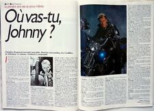 Mag 1989: JOHNNY HALLYDAY_BROOKE SHIELDS_BIOMAN_JACQUES PENOT_EUROTUNNEL