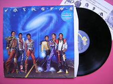 Jacksons - Victory, Epic EPC-86303 VG+ Vinyl LP, Gatefold Sleeve, State Of Shock