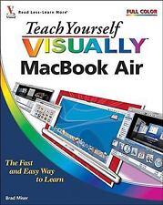 Teach Yourself VISUALLY MacBook Air (Teach Yourself VISUALLY (Tech))-ExLibrary