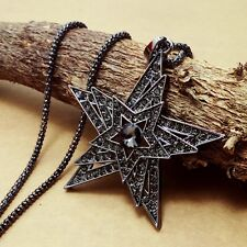 Fashion Gold Plated star Pendant Crystal mosaic Sweater chain Necklac  KK149