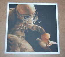 Jeremy Geddes Lithograph Print Cosmonaut Adrift Detail Art Poster Astronaut